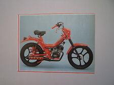 - RITAGLIO DI GIORNALE ANNO 1982 - MOTO BIRO'S GRINTA CR 50