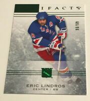 Eric Lindros /99 made Artifacts Emerald Insert Parallel Hockey Card 20, 2014