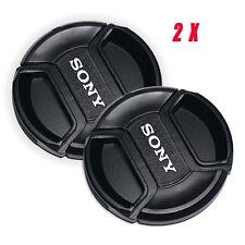 NEW 55mm Generic Lens cap Cover For Sony A77 A65 A58 A57 A35 A33 A350 A300 -2Pcs