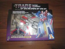 Transformers G1 Starscream Walmart Exclusive Reissue Misb
