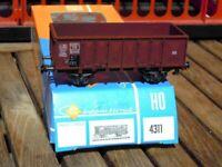 Roco 4311 offener Güterwagen Ommp50 der DB Epoche 3 unbespielt in OVP