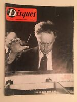 Revista Discos N º 129 Mayo-Junio Arthur Rubinstein 1962