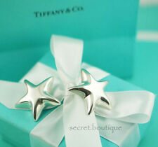 AUTHENTIC Tiffany & Co. LARGE Star Clip on Earrings RARE!!! (#907)