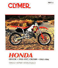 Clymer Honda Cr125r 1992-1997 and Cr250r 1992-1996 (m4572)