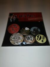 Harry Potter Button Badges six pack pins buttons