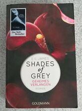 Shades of Grey Bd 1 Geheimes Verlangen v. E L James Goldmann Verlag Erotikroman