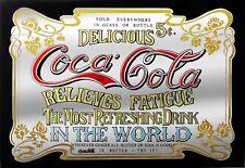 Coca Cola Rétro Métal Plaque Murale Art VINTAGE ADVERTISING TIN SIGN