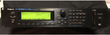Roland Instrument Module JV -2080 voice synthesizer module From Japan Used