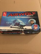 New ListingAmt Ertl Airwolf Helicopter 1/48 Scale Model Kit Vintage 1984 Parts Sealed.