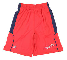 Majestic MLB Youth Washington Nationals Batters Choice Shorts, Red