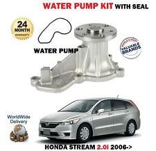 pour Honda COURANT 2.0i r20arn8 RN9 2006- > POMPE À EAU NEUVE ET JEU DE JOINTS