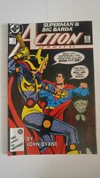 Action Comics #592 September 1987  DC Comics Superman Green Lantern