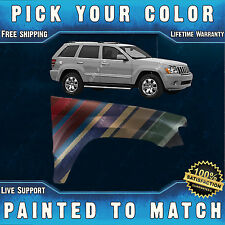 NEW Painted To Match - Front RH Right Fender for 2005-2010 Jeep Grand Cherokee