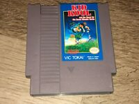 Kid Kool Nintendo Nes Cleaned & Tested Authentic
