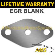 Vauxhall Opel Astra Signum Vectra Zafira vanne egr plaque d'obturation permettant 1,5 mm acier HD