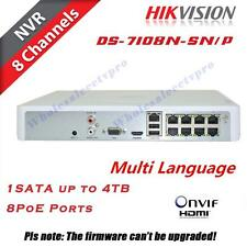 Hikvision NVR 8CH DS-7108N-SN/P independent POE CCTV network Video Recorder