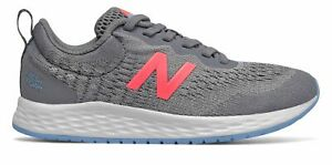 New Balance Kid's Fresh Foam Arishi Big Kids Female Shoes Grey with Pink & Blue