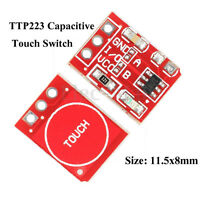 10x TTP223 Capacitive Touch Switch Button Self-Lock Module for Arduino