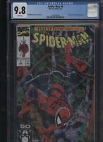 Spider-Man #8 CGC 9.8 Todd McFarlane 1991 WOLVERINE