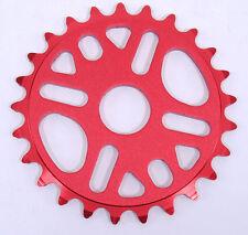 Evoke BMX Bike Chainring 25t Sprocket Red
