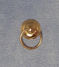 In ottone anello per asciugamani, DOLLS HOUSE miniatura, accessorio da bagno, scala 1.12