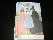 Misses The Wizard of Oz Costume pattern UNCUT Size 6 8 10 12  # 4136