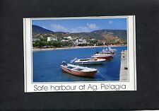 Postcard- View of Pelagia Harbour, Greece