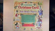 Disneyland Records DIckens' CHRISTMAS CAROL LP 1974