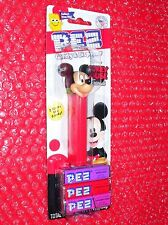 Pez   Mickey Mouse  on Disney Mickey Mouse & Friends card      2 Times the Candy