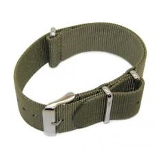Nato Watch Strap (24mm) with Stainless Steel Buckle / Extra Long 283mm XL 24.3