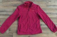 Polar Edge Zippered Jacket, Pink Polar Edge Jacket, Size Medium
