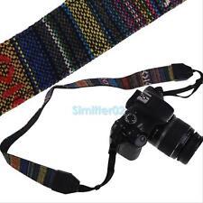 Retro Vintage SLR DSLR Camera Neck Shoulder Strap Belt for Sony NEX Canon EOS