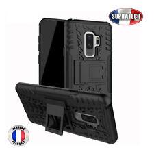 Coque de Protection Noir Rigide Renforcé Anti-Choc pour Samsung Galaxy S9 Plus