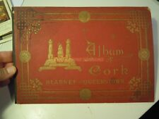 "RARE "" ALBUM OF CORK BLARNEY AND QUEENSTOWN "" IRELAND - DUBLIN 1896 - L-11"