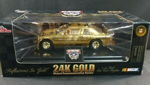 RACING CHAMPIONS 24K GOLD PLATED #41 NASCAR 50TH ANNIVERSARY 1:24 SCALE