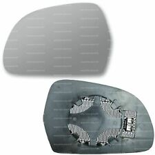 Left side for Audi A4 2007-2010 heated wing door mirror glass