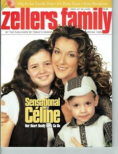 Celine Dion - Zellers Family Magazine - Spring 1999