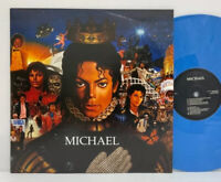 Michael Jackson - Michael LP 2010 UK Orig Blue Vinyl RnB/Swing Pop Rock Ballad