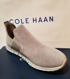 Cole Haan ZERØGRAND Women's Slip-On Booties Ironstone Suede US Size 9