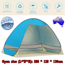 Pop Up Portable Instant Tent Beach Sun Shade Shelter Camping Hiking Canopy Swag