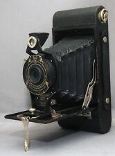 EASTMAN KODAK Hawk-Eye Model B No.2A FOLDING VINTAGE Camera * USA * CLEAN!