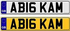 BIG KAM private personal personalised cherished number plates plate for sale