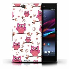 Owl Patterned Mobile Phone Cases, Covers & Skins for Sony