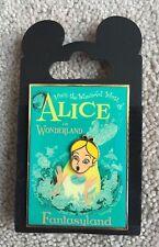 Disney WDI Imagineering Attraction Poster - Alice in Wonderland Pin LE 300 NOC