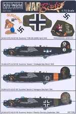 Kits World Decals 1/72 B-24H LIBERATOR Sunshine American & German Markings