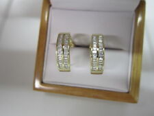 GORGEOUS ESTATE 14 KT GOLD 1.25 CTW DIAMOND EARRINGS 6.4 GRAMS !!!!!!