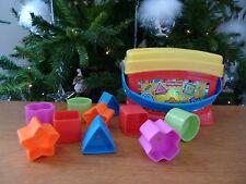 ☺ Boite A Cubes De Différentes Formes De Fisher Price Complet