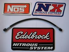 "LOOK MOM BLACKOUT! *NEW 3AN-3AN-12"" NITROUS OR FUEL LINE/HOSE NOS/NX/ZEX 1-LINE!"
