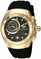 Technomarine TM-115380 Cruise One Collection Gold with Black Strap