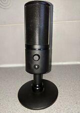 RAZER SEIREN X Streaming USB Condenser Microphone Super Cardiod Black
